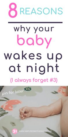 Why your baby keeps waking up at night How to get your baby to sleep through the night. These baby sleep tips will help you understand why your baby keeps waking up at night! And to understand what to do about it! Why is baby waking up at night? Getting Baby To Sleep, Help Baby Sleep, Kids Sleep, Child Sleep, Baby Sleep Routine, Baby Sleep Schedule, Baby Sleep Through Night, Sleeping Through The Night, Gentle Sleep Training