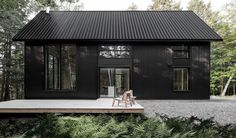 Photo 2 of 17 in A Lofty Nature Retreat in Quebec Inspired by Nordic Architecture - Dwell