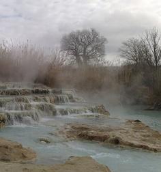 Saturnia, Tuscany, Italy - hot spring