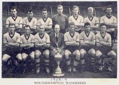 wolverhampton wanders - league champions 1958-59