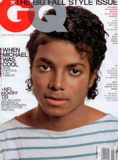 A beautiful tribute to Michael Jackson, this portrait that GQ choose for its cover moved me, real, simple, magic soul. Jackson Family, Janet Jackson, Gq Magazine Covers, King Of Music, Happy Birthday, Star Wars, The Jacksons, Thats The Way, Black Men