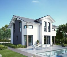 Haus bauen modern satteldach  Celebration Pfullingen - Bien Zenker - Fertighaus | Houses ...