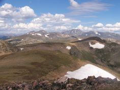 Trail to Rogers Pass and Corona Peak in The Indian Peaks Wilderness, Colorado