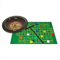 Trademark Poker 10-TFB311-10 Deluxe Roulette Set with Chips by Trademark Global. $21.85. 10-TFB311-10 Features: -Felt layout.-60 Chips.-2 Steel balls.-10'' Roulette wheel.-Rake. Includes: -Includes game instructions.