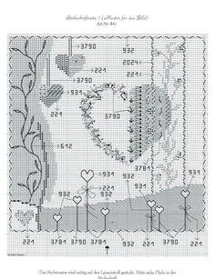 Gallery.ru / Фото #3 - 841 - Auroraten Heart Pictures, Cross Stitch Patterns, Hearts, Design, Punto De Cruz, Cross Stitch, German Language, Cross Stitch Heart, Crosses