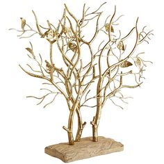 Some trees produce oxygen, while others, like this one, take your breath away. Handcrafted of rust-resistant iron, our one-of-a-kind golden sculpture sprouts from a sturdy mango wood plinth. Modern, luminous and, obviously, breathtaking.