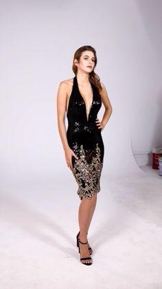 MACloth Halter V Neck Sequin Open Back Black Cocktail Dress Short Party Dress #black #sequin #sequined #gorgeous #elegant #cocktail #sexy #dress #gown #prom #prom2019 #promdress #promgown #hautecouture #eveingdress #eveninggown #wedding #bridal #Couturefashion #vestido #novias Short Dresses, Prom Dresses, Formal Dresses, Sequin Gown, Short Cocktail Dress, Couture Fashion, Evening Gowns, Dress Black, Party Dress