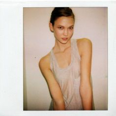 Models Before They Were Famous—Karlie Kloss Oyster Magazine, Model Polaroids, Vs Models, Karlie Kloss, Thinspiration, Celebs, Celebrities, Girl Crushes, Film Photography