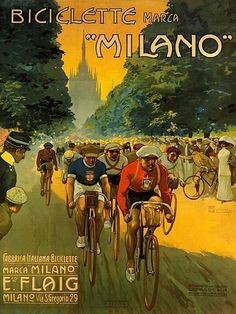 """Marca """"Milano"""" - Italy is FULL of cyclists!!"""
