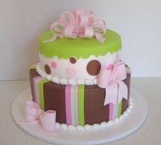 Baby shower cake maybe