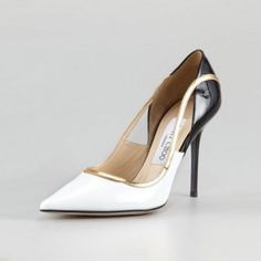 1ed05a82d829 Colorblock Patent Leather Jimmy Choo Vero Pump