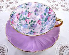 Tea Cups ❖ Teapots ❖ Milk Glass ❖ Pretty Vintage China by TeacupsAndOldLace