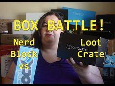 Box Battle: Nerd Block vs Loot Crate