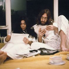 A Look Back at John Lennon and Yoko Ono's Infamous Love Story