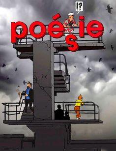 Les Aventures de Tintin - Album Imaginaire - Poésie
