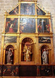 Monestir de Sant Cugat - Retaule de Sant miquel
