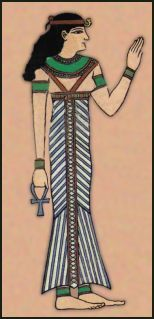 Egyptian dress Tutorial (I may try makeing a short sassy update for this for a beach cover up)