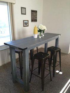 Gorgeous Farmhouse Dining Room Bar Table Model Ideas 6