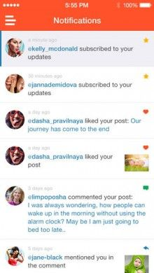 Preggie for iPhone is a social network for mums to be #listview