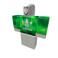 GREEN Electric Adidas - ROBLOX