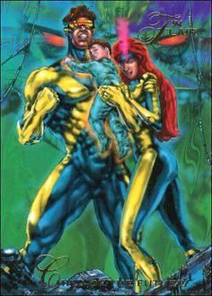 Image result for marvel universe flair 1994