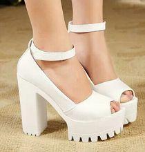 2014 mujer de zapatos de verano de gasa punta abierta sandalias zapatos de plataforma mujer gruesa tacon plataforma tacones altos para mujer sandalias YN(China (Mainland))