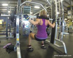 #Leg day! #legday #workout #workhard #exercise #lift #liftweights #chickslift #ladieslift #weights #muscle #goodbyefathellomuscle #trainhard