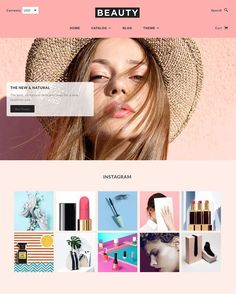 16+ Stunning Beauty Store Shopify Themes - Blockshop Screenshot