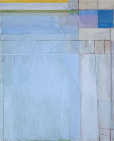 Richard Diebenkorn, Ocean Park #54, 1972, oil on canvas, 100 x 81 inches. San Francisco Museum of Modern Art, gift of Friends of Gerald Nordland. © The Richard Diebenkorn Foundation. Image courtesy San Francisco Museum of Modern Art, photograph by Richard Grant.