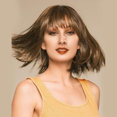 Peruca Scurta Dreapta din Par Uman, Peruca Bob cu Coafura Wig Hairstyles, Straight Hairstyles, Natural Wigs, Body Size, Comfortable Outfits, Human Hair Wigs, Human Body, Curly, Long Hair Styles
