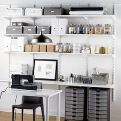 How clean and neat! Oh so organized. love it!