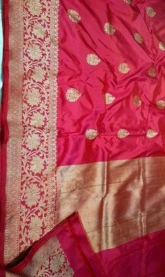 Banarasi Saree - Over / Sarees / Ethnic Wear: Clothing & Accessories Phulkari Saree, Banaras Sarees, Kanchipuram Saree, Kurti, Saree Dress, Lehenga Saree, Banarasi Lehenga, Katan Saree, Bengali Bride