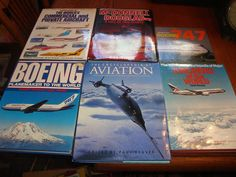 Aircraft Airplane Books Lot of 5 Boeing McDonnell Douglas 1985
