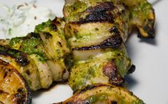 These may be the best chicken kebabs we've ever eaten. The cilantro and mint in the marinade (along with the spices, ginger, and garlic) flavours the chicken and then becomes deliciously charred once the kebabs hit the grill. The meat is tender and juicy while crisp on the outside. Marinate the bird for as long …