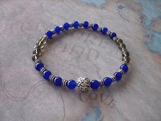 Blue sapphire bracelet by Shynnasplace on Etsy, $19.99