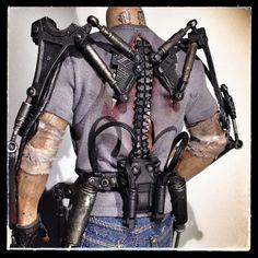Exoskeleton Suit, Powered Exoskeleton, Arte Robot, Robot Art, Suit Of Armor, Body Armor, Tactical Armor, Post Apocalyptic Fashion, Futuristic Armour