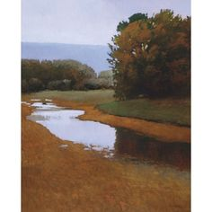 Artist: Marc Bohne Title: Vermont Rain Product type: Gallery-wrapped Canvas Style: Casual Format: Vertical Size: Large Subject: Landscapes Image dimensions: 27 x 36 inches Outer dimensions: 27 x 36 in