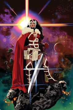 Lady Sif - Daniel Acuña. I love this so much that's it is my cellphone background