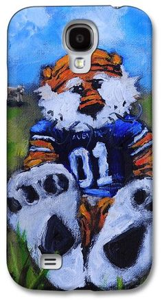 Aubie With The Cows Galaxy S4 Case