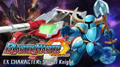 Shovel Knight in Blaster Master Zero
