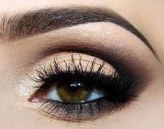 Вечерний макияж для карих глаз пошагово - здоровье и спорт