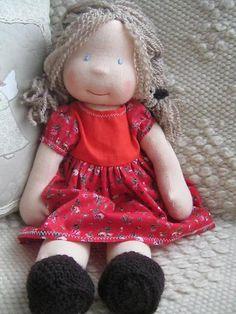 Waldorf dollcustom doll waldorf inspired doll steiner от bemka