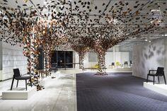 Komorebi installation by Firm for CONDE HOUSE » Retail Design Blog