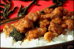 General Tso's chicken at home