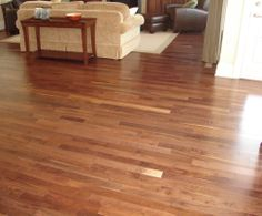 Light Hardwood for living room area