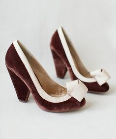 Velvet Marion Pump & Hair Pin - Women #zulilyfinds