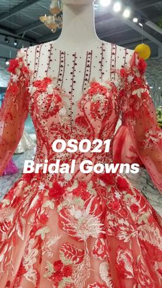 Red Quinceanera Dresses, Bridal Gowns, Ball Gowns, Formal Dresses, Beautiful, Fashion, Shopping, Vestidos, Bride Dresses