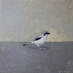 Elizabeth Mayville. etsy. bird painting, oil.