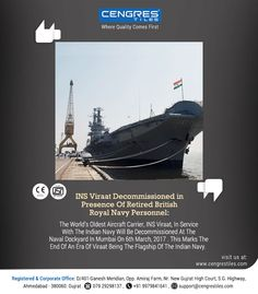 INS Viraat Decommissioned In Presence of Retired British Royal Navy Personnel.