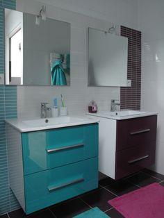 salles de bains pour petite fille sur pinterest salles de bains de fille salle de bains et. Black Bedroom Furniture Sets. Home Design Ideas